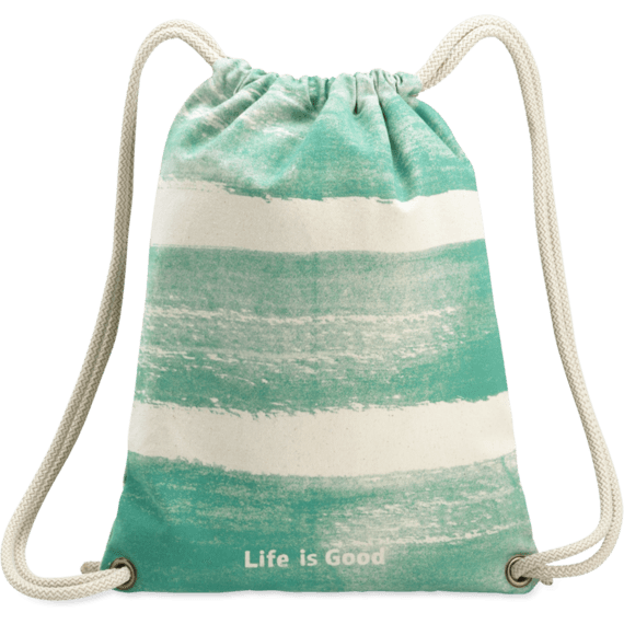 Painted Stripe Cinch Sack