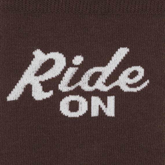 Ride On Men's Crew Socks