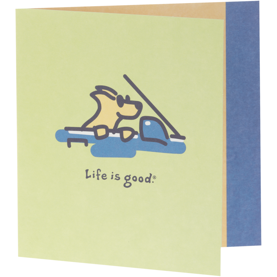 Life is good Rocket Cruisin' Hallmark Card