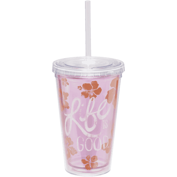 Small Cup & Straw