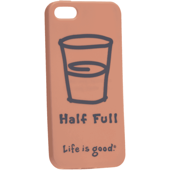 Half Full Phone Cover