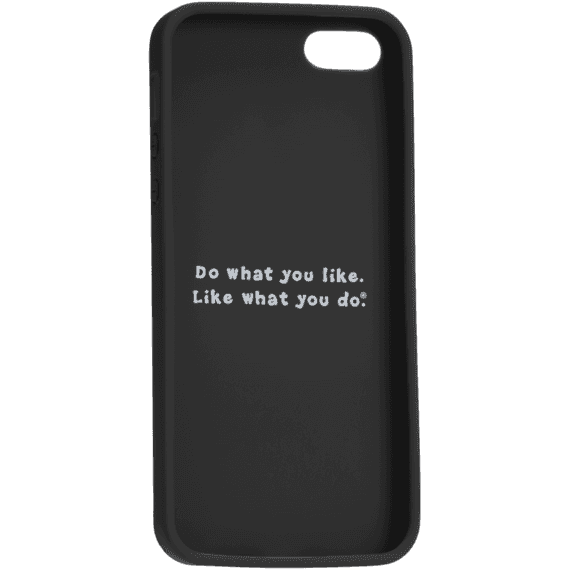 LIG Sayings Black Phone Cover