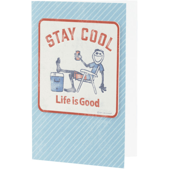 Stay Cool Jake Coaster Card