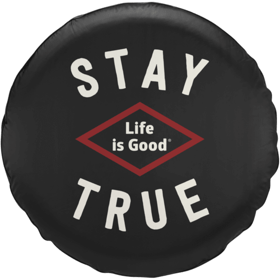 Stay True Tire Cover