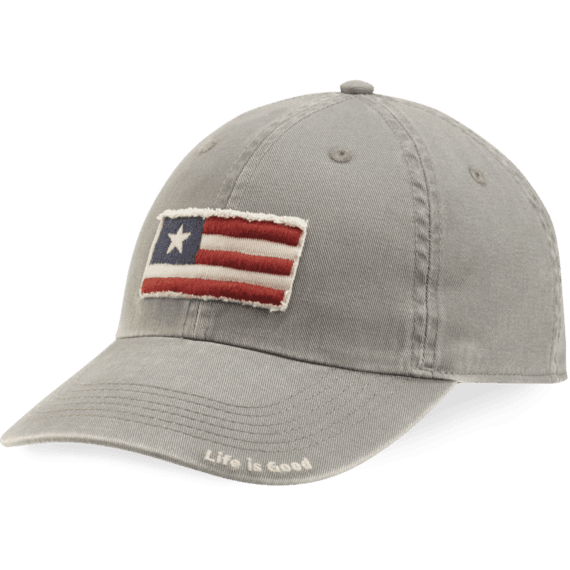 Three Stripe Flag Tattered Chill Cap