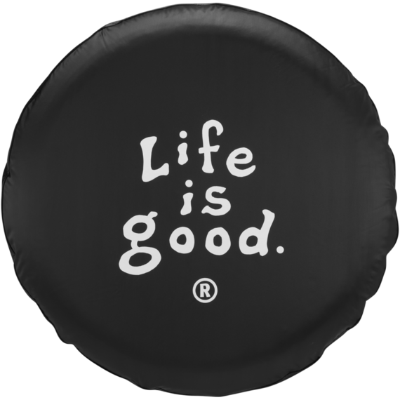 Life is good Tire Cover