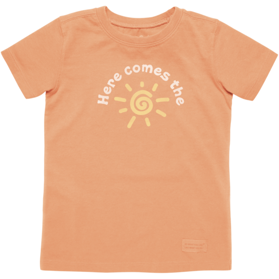 Toddler's Here Comes The Sun Crusher Tee