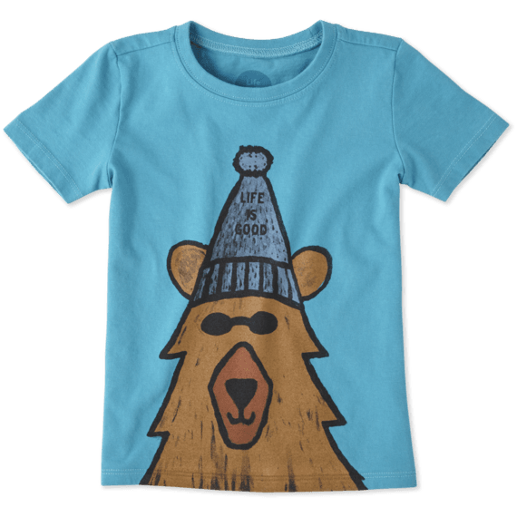 Toddlers Happy Bear Crusher Tee