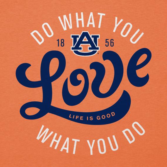 Women's Auburn University Do What You Love Cool Vee