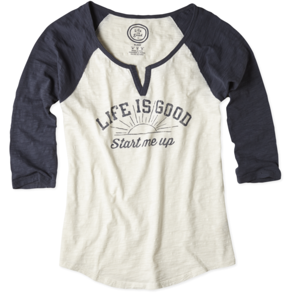 Women's Start Me Up Baseball Sleep Tee