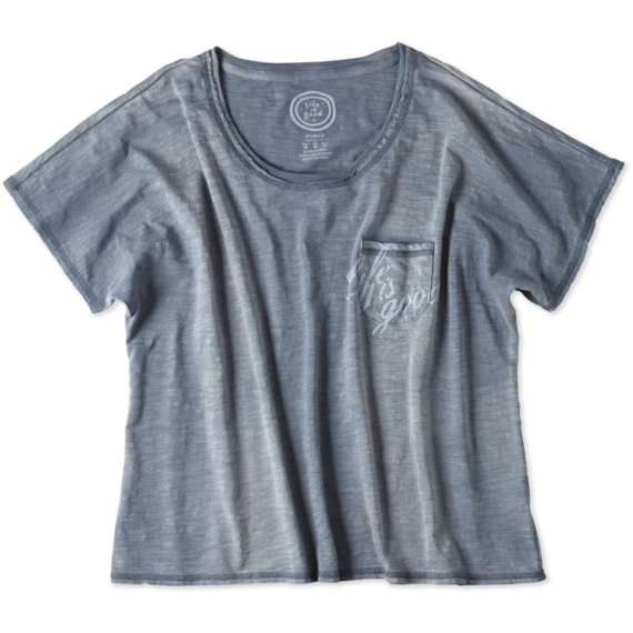 Women's Beachy Pocket Tee