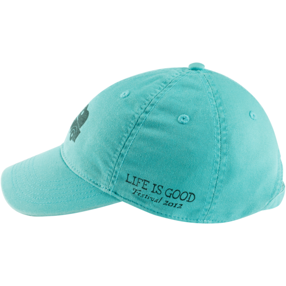 Womens Chill Cap Festival 2012, Aqua Blue