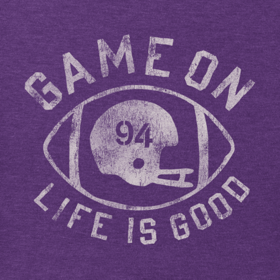 Women's Game On Football Cool Tee