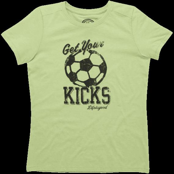 Women's Get Your Kicks Cool Tee