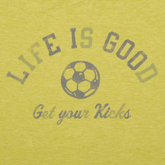 Women's Get Your Kicks Soccer Cool Tee