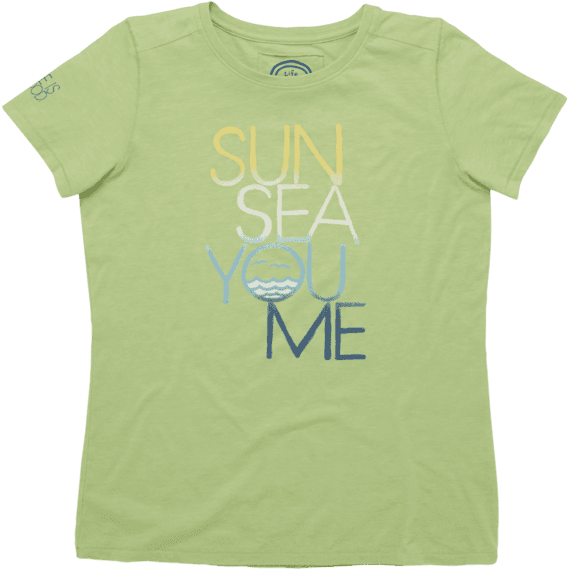 Women's Sun Sea You Me Cool Tee