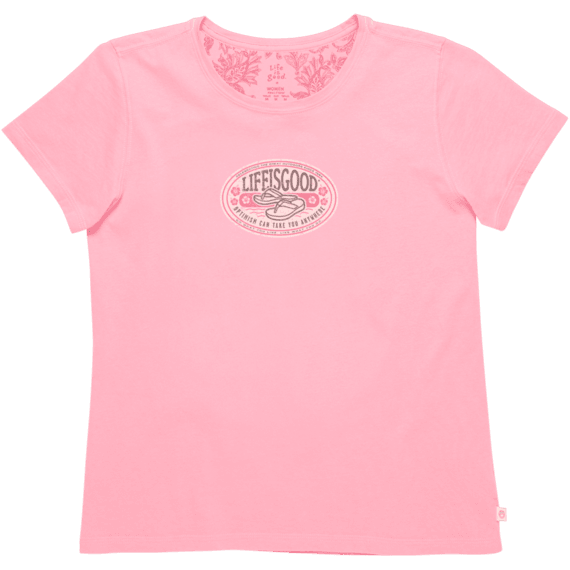 Women's Optimism Can Take You Anywhere Creamy Tee