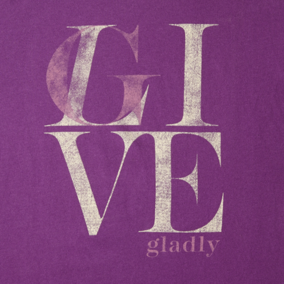 Women's Give Live Creamy Tee