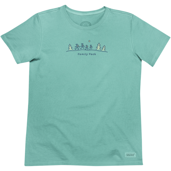 Women's Family Pack Crusher Tee