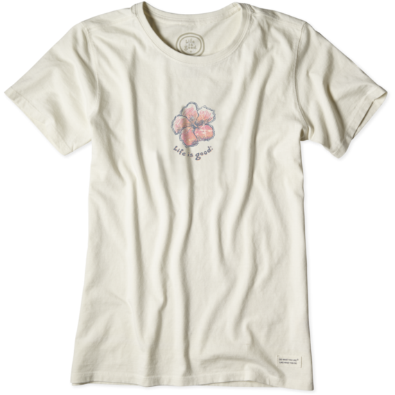 Women's Fresh Hibiscus Crusher Tee
