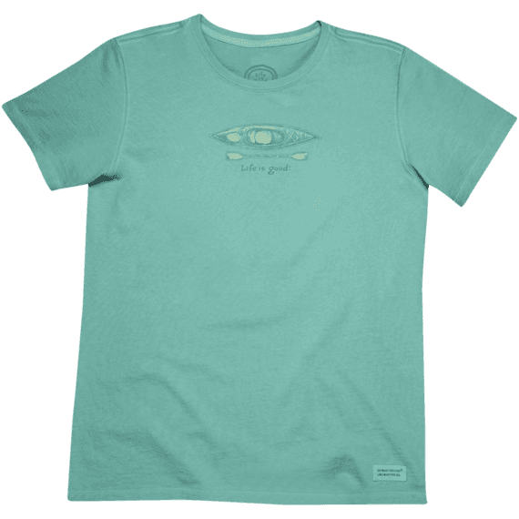 Women's Fresh Kayak Crusher Tee
