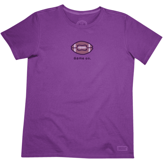 Women's Game On Crusher Tee