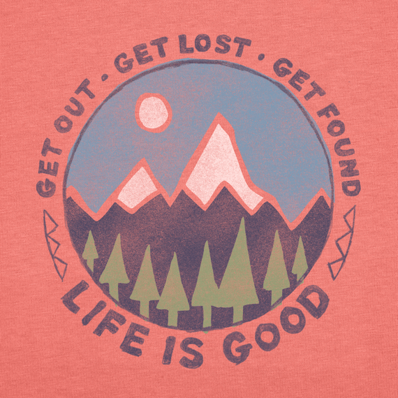Women's Get Out Get Lost Get Found Crusher Tee