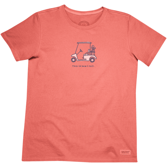 Women's Golf cart Crusher Tee