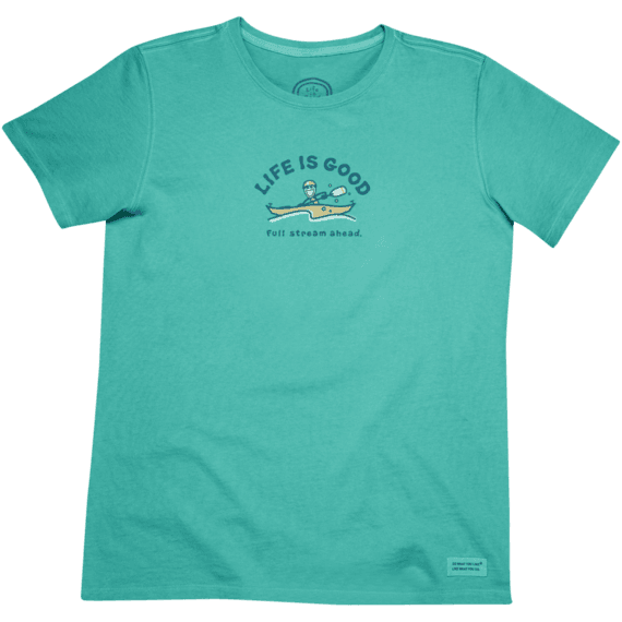 Women's Full Stream Ahead Crusher Tee