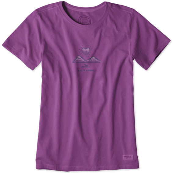 Women's Let It Shine Crusher Tee