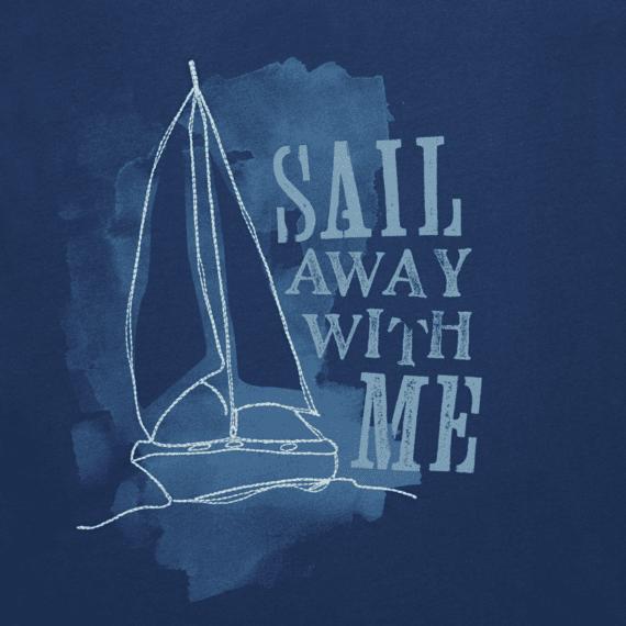 Women's Sail Away With Me Lightweight Crusher Vee
