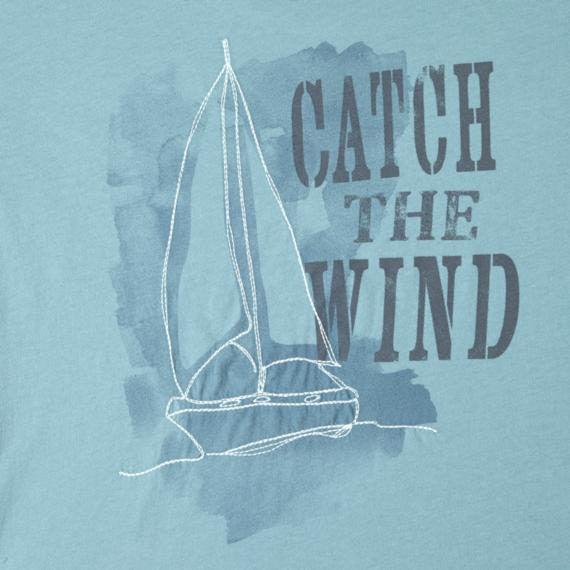 Women's Catch The Wind Lightweight Crusher Vee