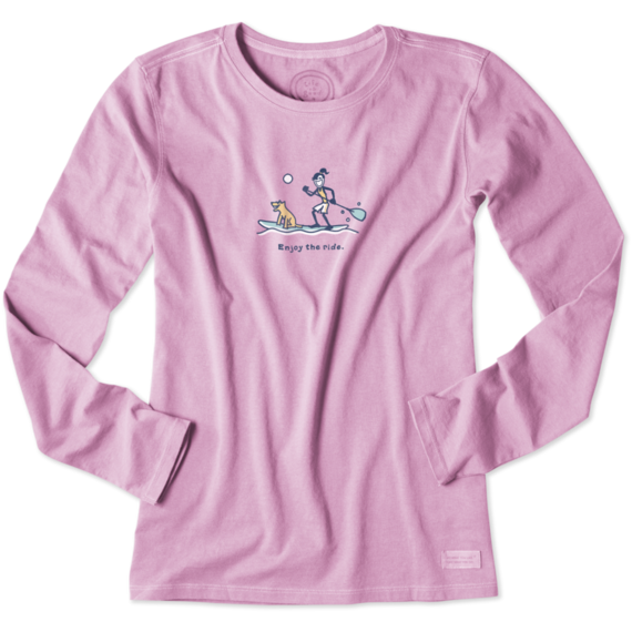Women's Jackie Paddleboard Long Sleeve Crusher Tee