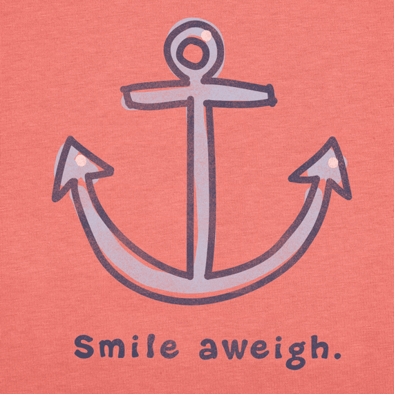 Women's Smile Aweigh Long Sleeve Crusher Tee