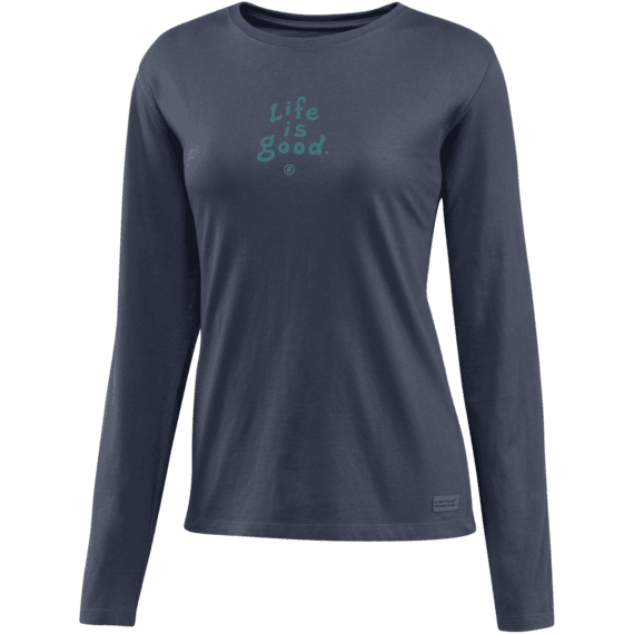 Women's Essential Long Sleeve Crusher Tee