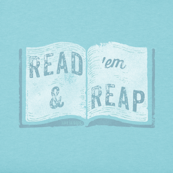 Womens Read Em And Reap Crusher Tee