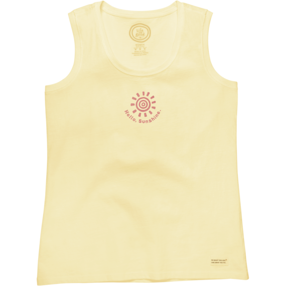 Women's Hello, Sunshine Sleeveless Crusher