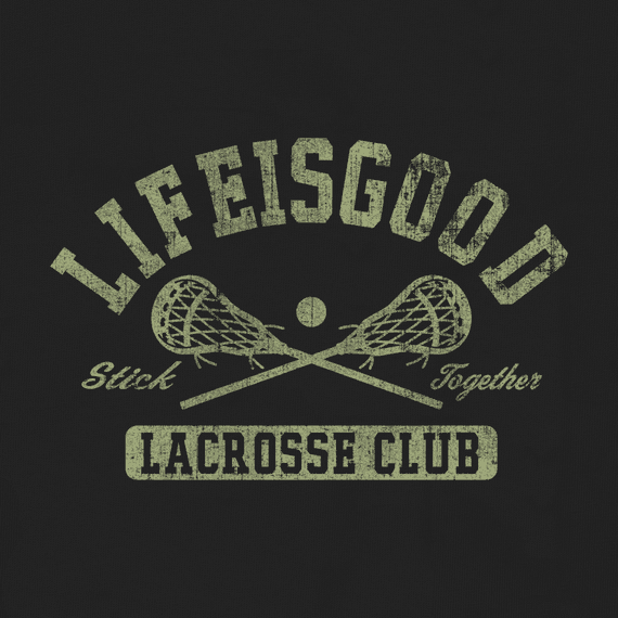 Women's Stick Together Lacrosse Crusher Tee