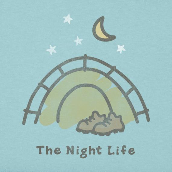 Women's The Night Life Crusher Tee