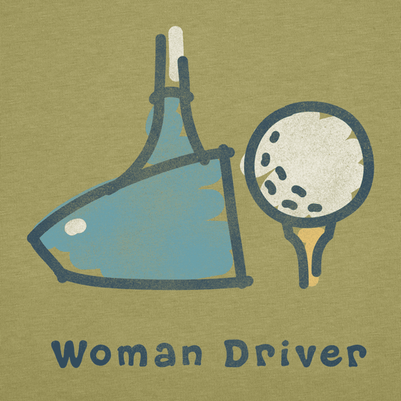 Women's Woman Driver Crusher Tee