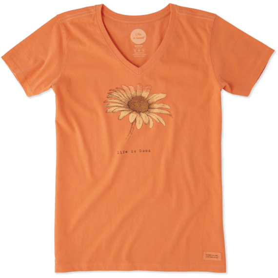 Women's Daisy Crusher Vee