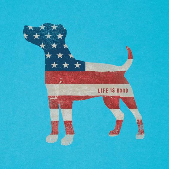 Women's Dog Flag Crusher Vee