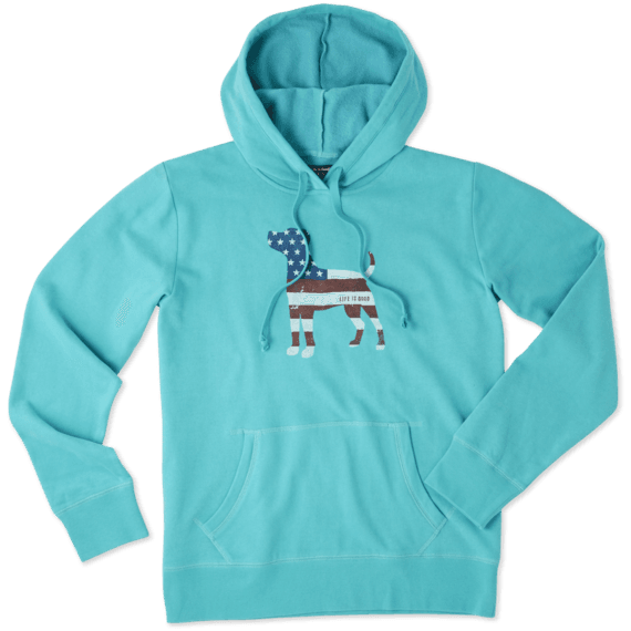Women's Dog Flag Go-To Hoodie