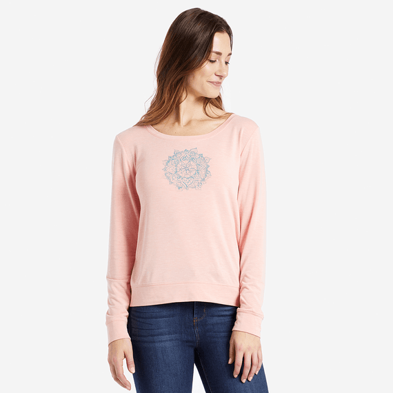 Women's Dream Mandala Supreme Scoop Pullover