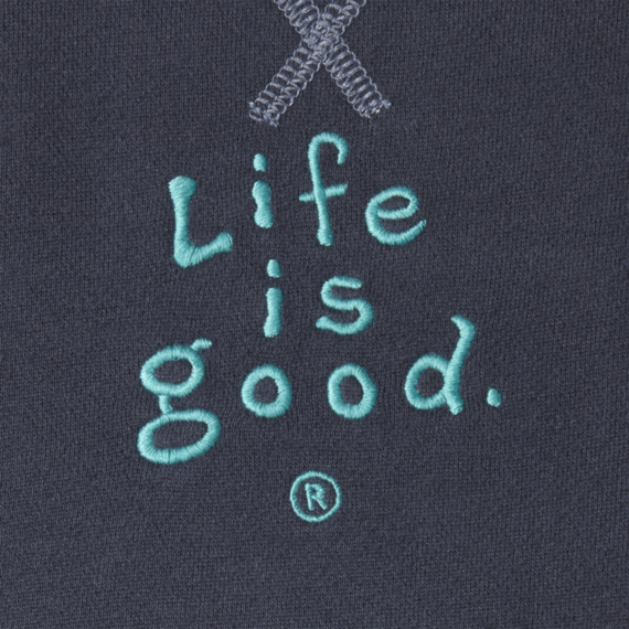 Women's Life is good Softwash Crewneck Sweatshirt