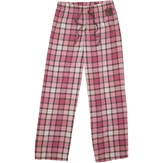 Women's Plaid Flannel Sleep Pants