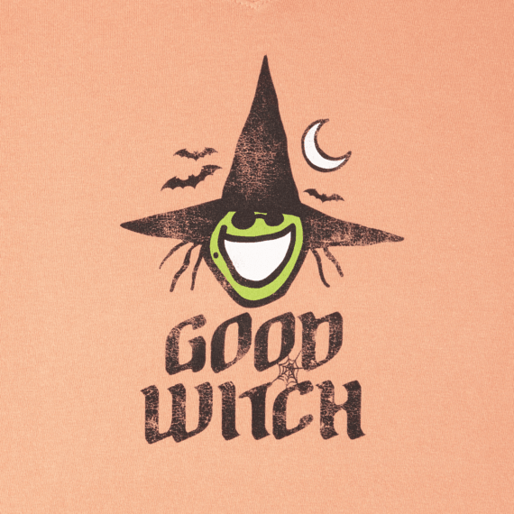 Women's Good Witch Long Sleeve Crusher Tee