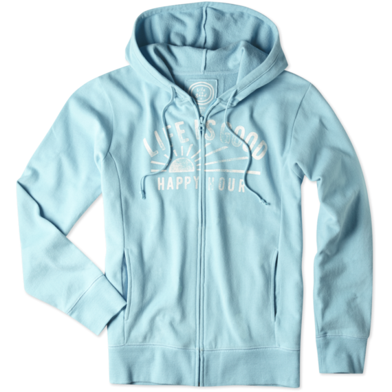 Women's Happy Hour Go-To Zip Hoodie