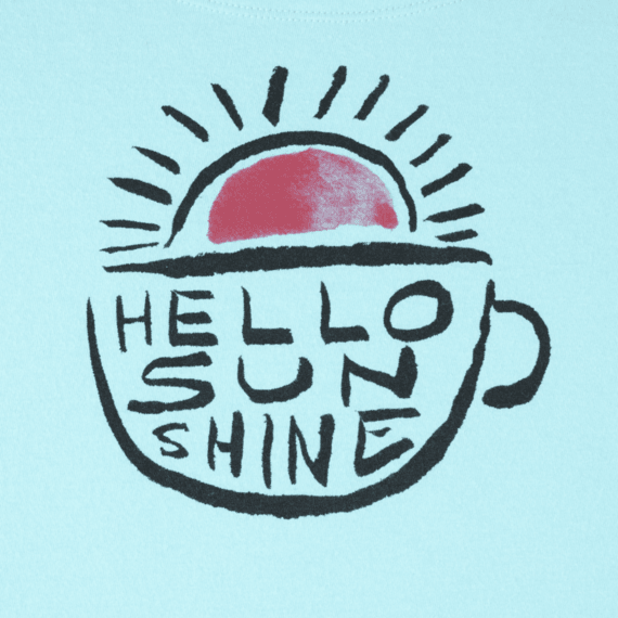 Women's Hello Sunshine Sleep Tee Dress