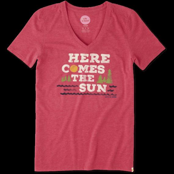 Women's Here Comes Sun Cool Tee